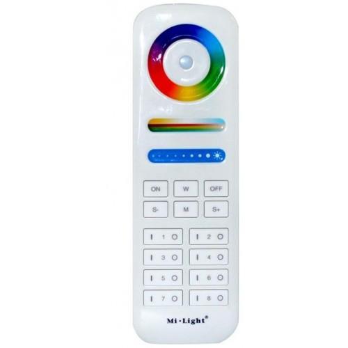 Dálkový dotykový ovladač MI-Light pro LED pásky 5v1 RGB-CW-WW 8 zón