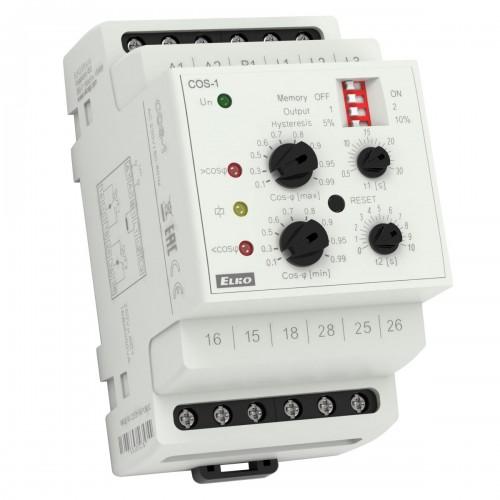 Hlídací relé pro kontrolu účiníku COS-1 /230V