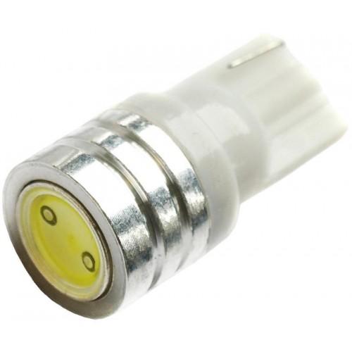 LED auto žárovka LED T10 W5W 1W HIGH POWER, bílá