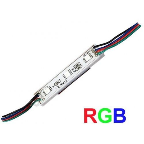 LED Modul 3xSMD 5050 0,72W 60lm 12V RGB