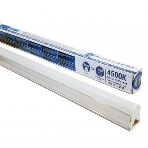Lineární LED svítidlo s vypínačem 150cm 20W CLP NEUTRÁLNÍ BÍLÁ