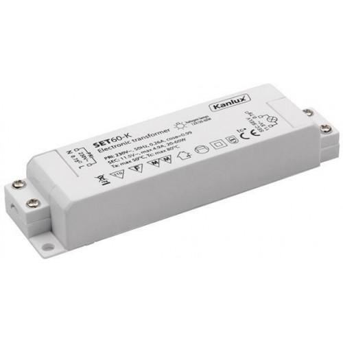 Kanlux 01425 SET60-K - Elektronický transformátor