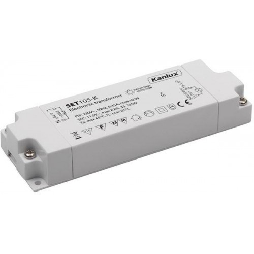 Kanlux 01426 SET105-K - Elektronický transformátor