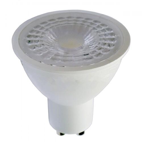 LED žárovka 7W 8xSMD2835 GU10 500lm TEPLÁ BÍLÁ